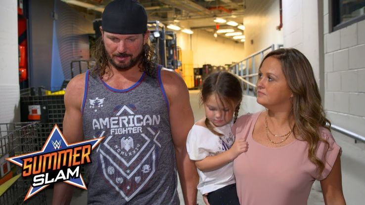 AJ Styles is married to Wendy