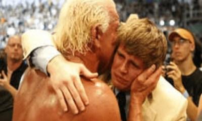 Ric Flair and His Son Reid Flair