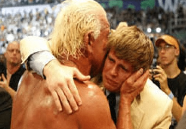 Ric Flair and His Son Reid Flair