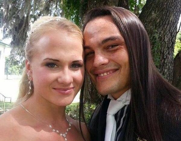 Sarah Backman and Bo Dallas married