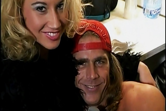 Sunny and Shawn Michaels