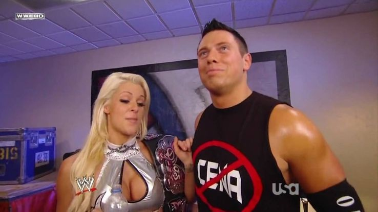 The Miz Is Married To Maryse