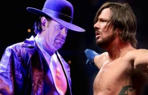 The Undertaker vs AJ Styles