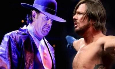 The Undertaker vs AJ Styles