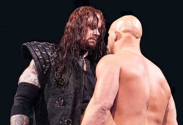 The Undertaker vs Stone Cold Steve Austin