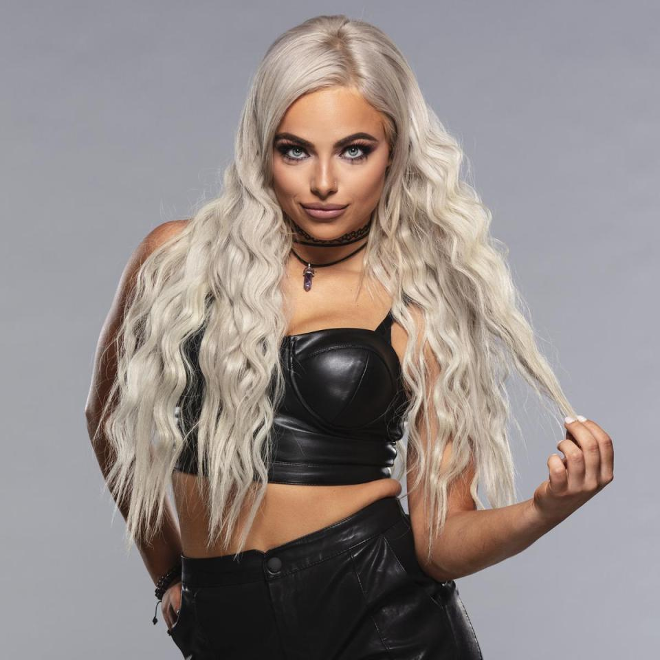 WWE Star Liv Morgan new look