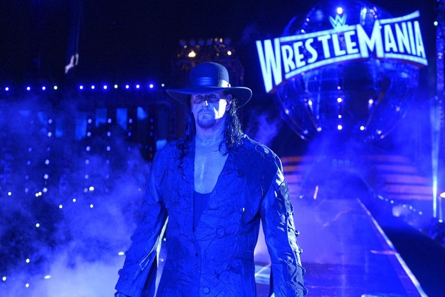 the undertaker wrestlemania 36