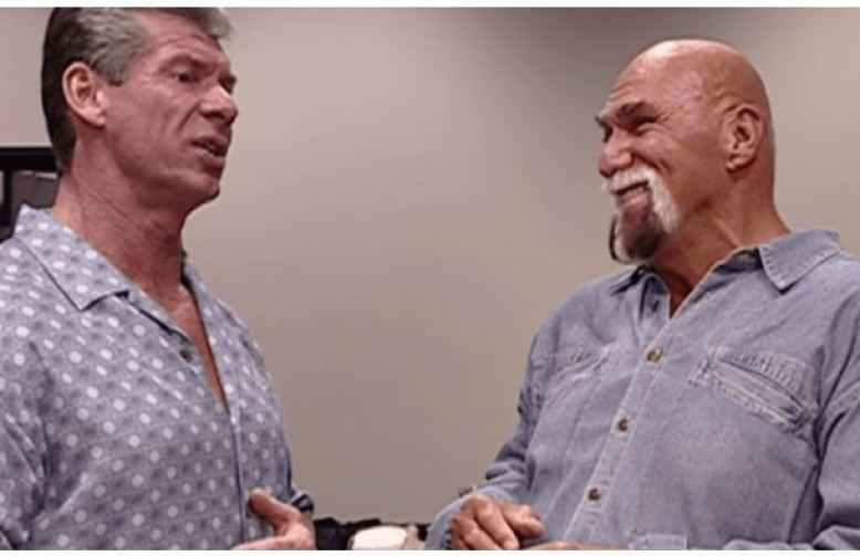 Billy Graham and vince Mcmahon