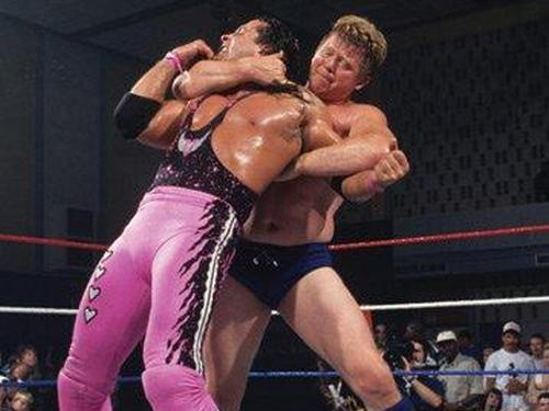Bob Backlund and Bret Hart