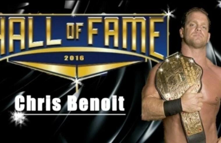 Chris Benoit hall of famer