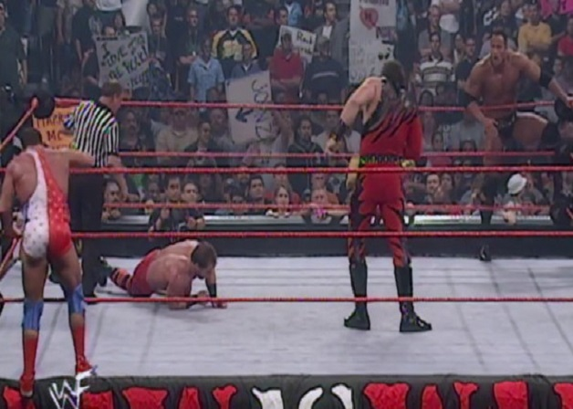 Chris Benoit vs Kane WWE legend