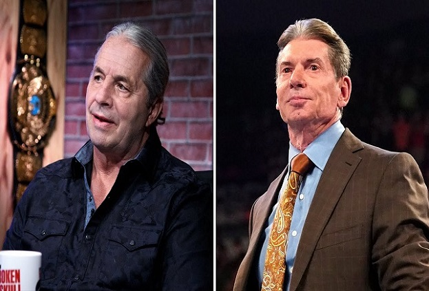 Bret Hart relationship with Vince McMahon