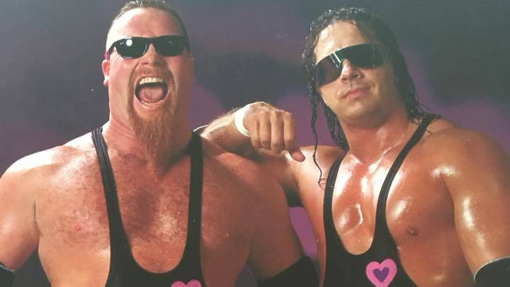 Bret Hart with friend