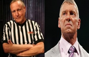 Earl Hebner and Vince McMahon