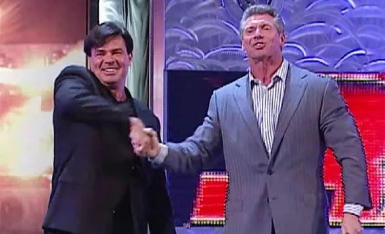 Eric Bischoff and Vince Mcmahon