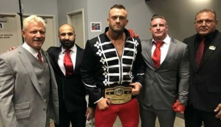 Nick Aldis and team