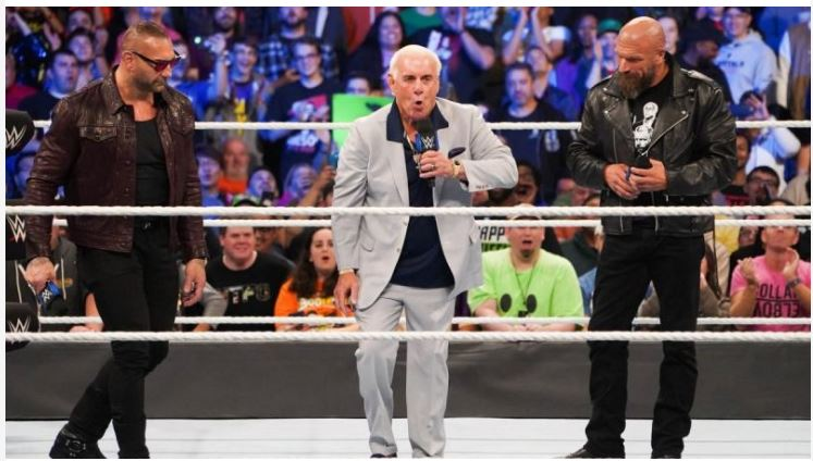 Ric Flair and Triple H