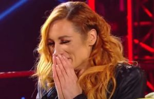 Becky Lynch Emotional