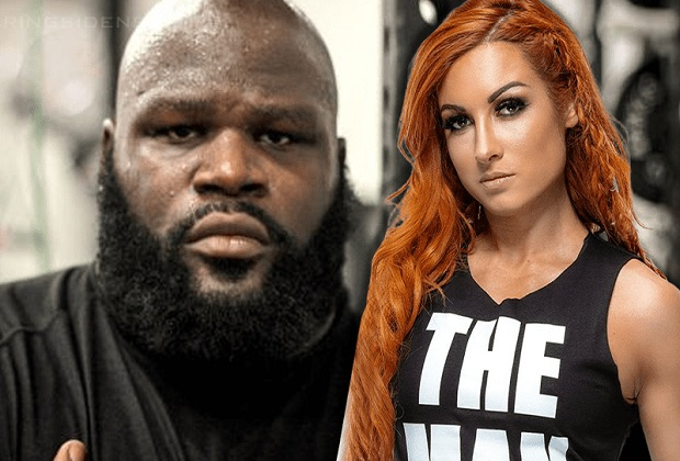 Becky Lynch and Mark Henry