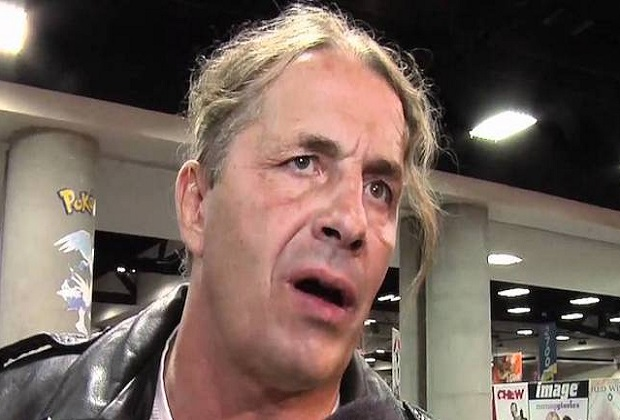 Bret Hart WWE Hall of Famer