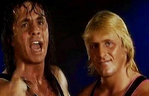 Bret Hart and Owen Hart