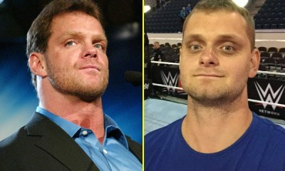 Chris Benoit and his son