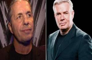 Eric Bischoff and Bret Hart