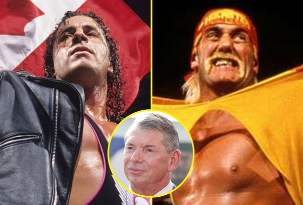 How ruthless Vince McMahon told legends Hulk Hogan and Bret Hart