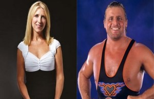 Martha Hart and Owen Hart