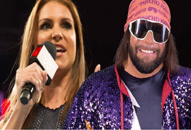 Randy Savage and Stephanie McMahon WWE