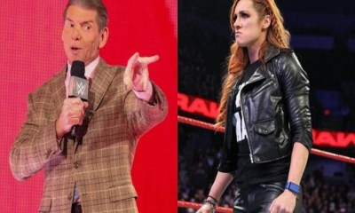 Vince McMahon and WWE take Becky Lynch pregnancy