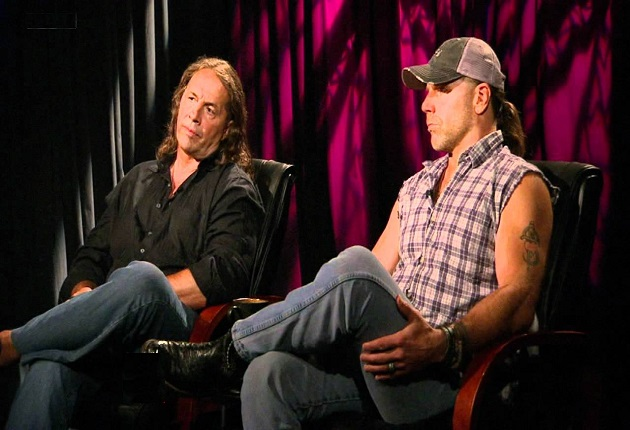 Bret Hart and Shawn Michaels HBK