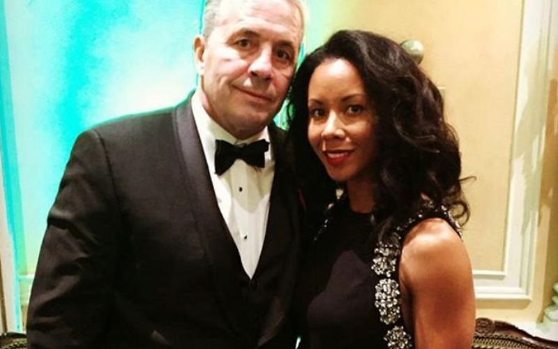 Bret Hart and Wife