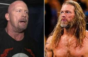 Edge and Stone Cold speak