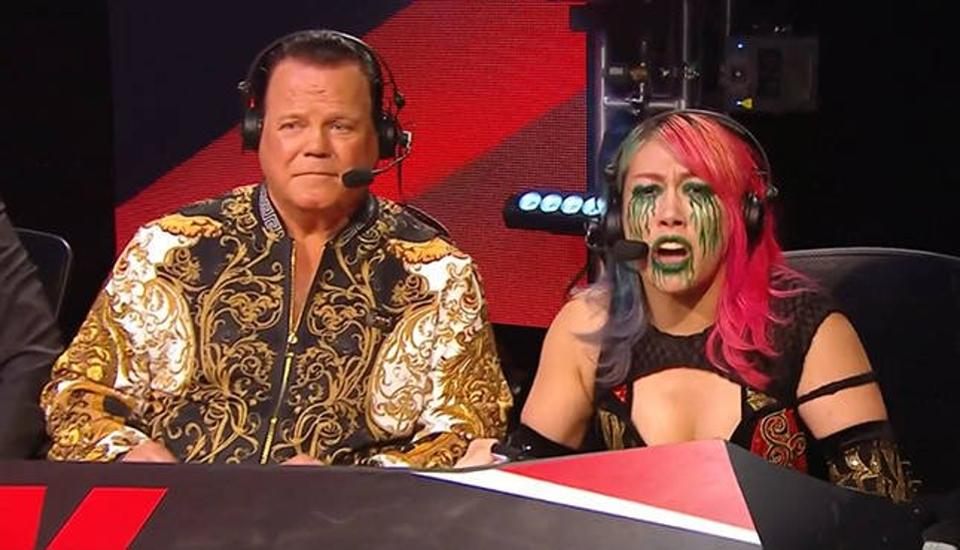 Jerry Lawler and Asuka