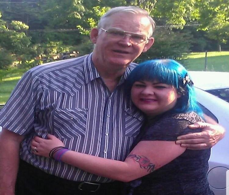 Jim Cornette hug wife