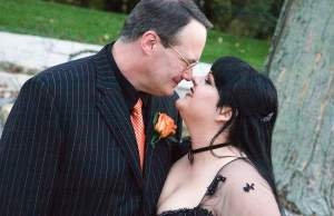 Jim Cornette kiss wife
