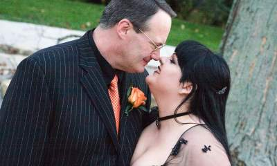 Jim Cornette kiss wife