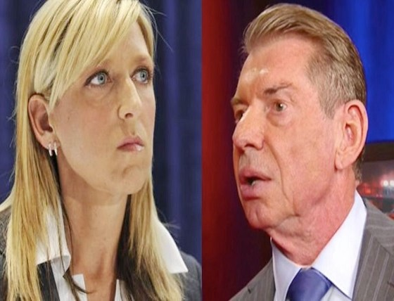 Martha Hart and Vince McMahon