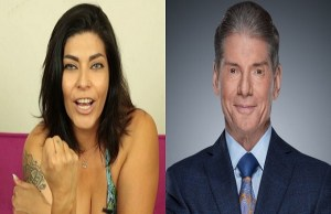 Shelly Martinez and Vince McMahon