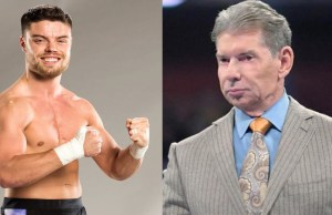 Vince McMahon and Jordan Devlin