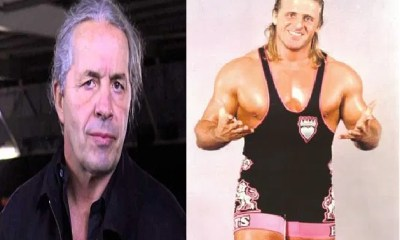 Bret Hart and Owen Hart wrestling legends