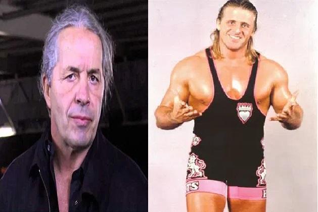 Bret Hart and Owen Hart wrestling legends