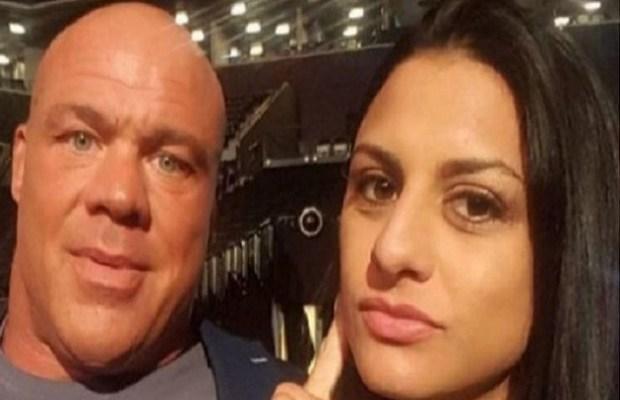 Kurt Angle and Wife Giovanna