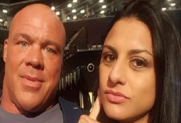 Kurt Angle and Wife Giovanna