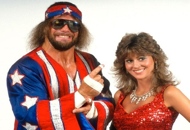 Miss Elizabeth and Macho Man Randy Savage