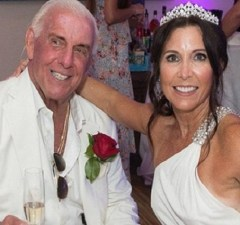 Ric Flair his wife, Wendy Barlow