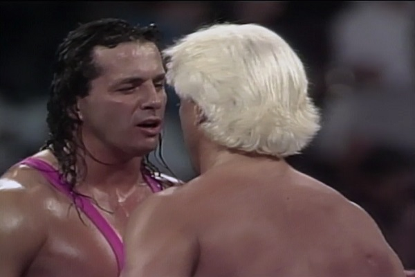Ric Flair vs Bret Hart: A War of Words!