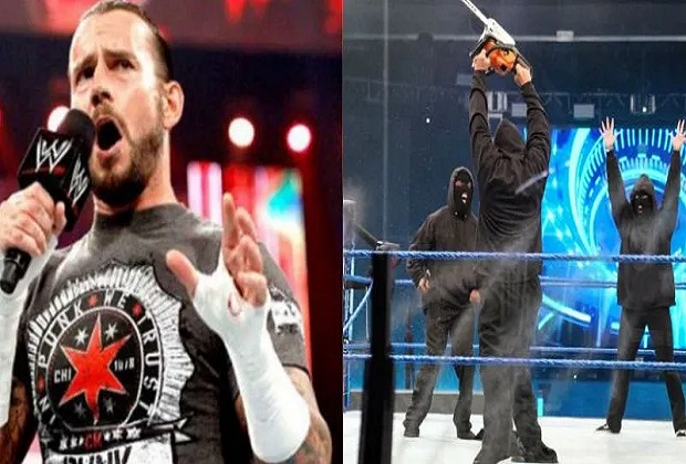 CM Punk reveals identity of Members Of WWE Retribution Faction