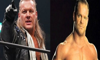 Chris Jericho and Chris Benoit hall of famer